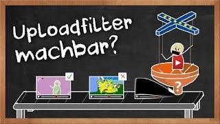 Uploadfilter technisch erklärt