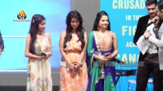 Ragini Khanna - Giaa Manek - Suresh Wadkar - Care For Cancer Patients