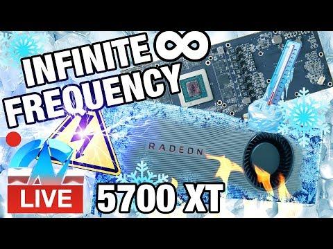 Live: AMD RX 5700 XT Liquid Nitrogen Overclocking