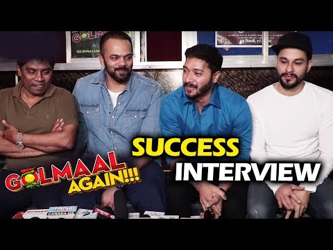 Golmaal Again Team at Gaiety Galaxy | Full Interview | Rohit Shetty, Johnny Lever, Kunal, Shreyas