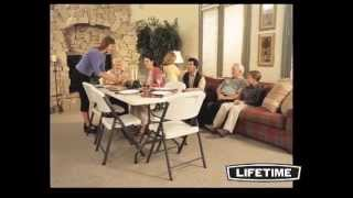 Lifetime 6 ft Folding Table (Almond)