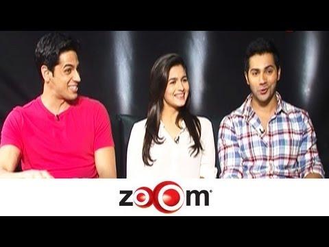 Alia: Varun is more passionate; Siddharth is subtle