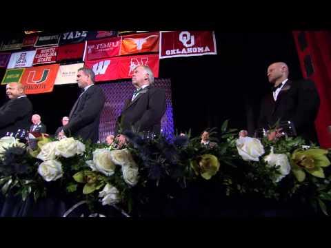 2013 National Football Foundation Hall of Fame Gala Highlights