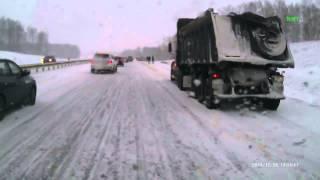 Авария на трассе Кемерово Ленинск ЖЕСТЬ