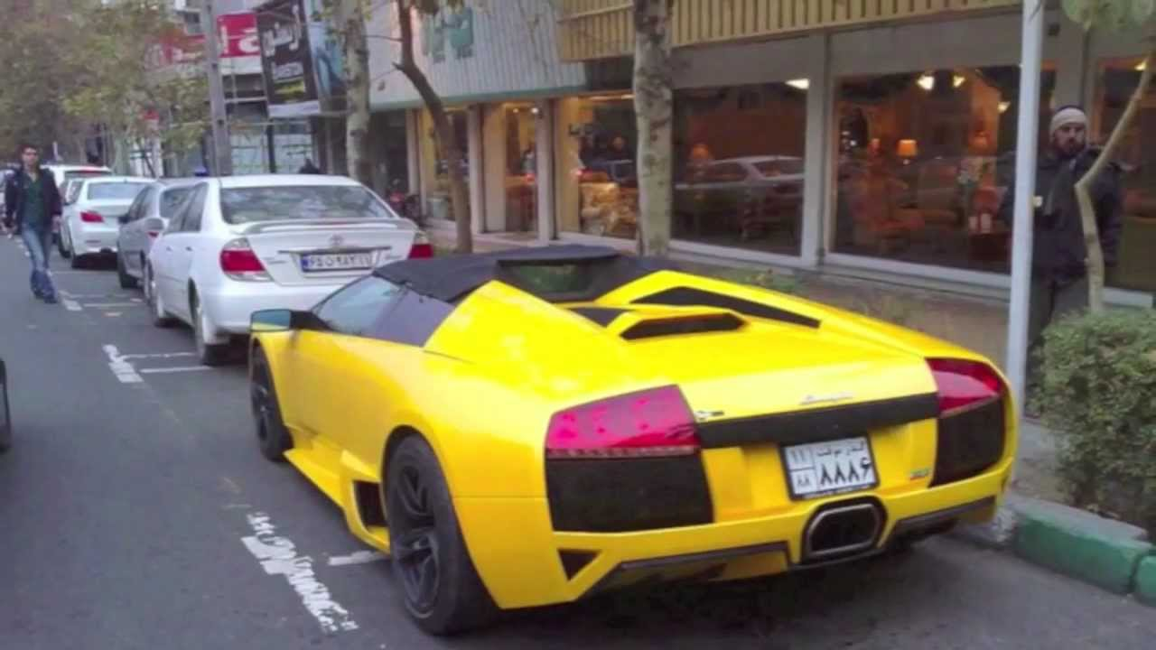 Iran Supercars 2012 Bugatti Sls And Much More In Iran