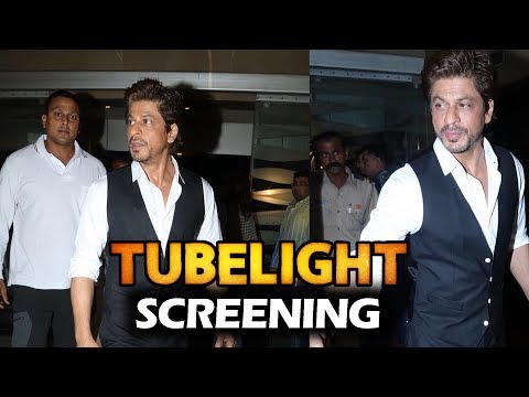 Thumbnail: Shahrukh Khan At Salman Khan's Tubelight Movie Screening