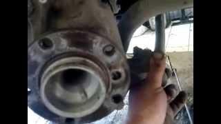 Замена переднего ступичного подшипника БМВ Е39(Порядок замены переднего ступичного подшипника БМВ., 2014-05-22T06:56:25.000Z)