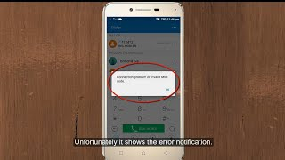 How to Fix 100 connection problems or invalid MMI code solve