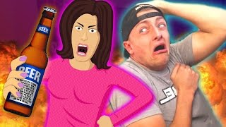 Dr*nk Mom Gets ARRESTED on Xbox Live! (Voice Trolling)
