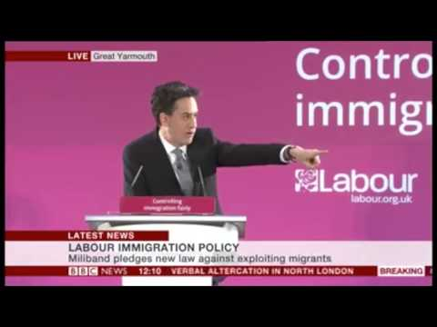 Ed Miliband's Big Immigration Speech