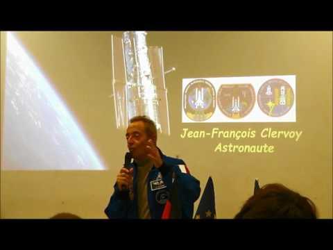 Jean-François Clervoy au Lycée Franco-Allemand de Sarrebruck