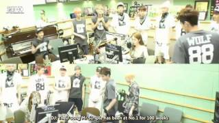 [ENG SUB] 130621 EXO Yoo In Na Volume Up Radio [FULL]