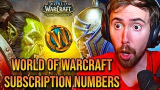 Asmongold Reacts To Unreal Wow Subscription Numbers Leaked By Dev