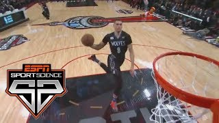 Free Throw Line Dunks | Sport Science | ESPN Archives