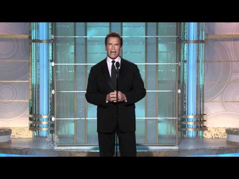 Golden Globe Awards 2010 - Arnold Schwarzenegger introduces 'Ava-DAR'