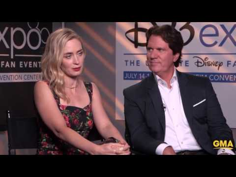 New Mary Poppins Emily Blunt Talks About Dick Van Dyke's Role In Mary Poppins Returns