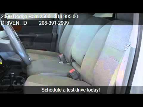 2006 Dodge Ram 2500 SLT Quad Cab Long Bed 4WD - for sale in