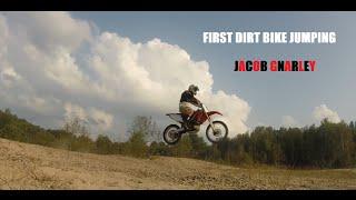 First Time Dirt Bike Jumping