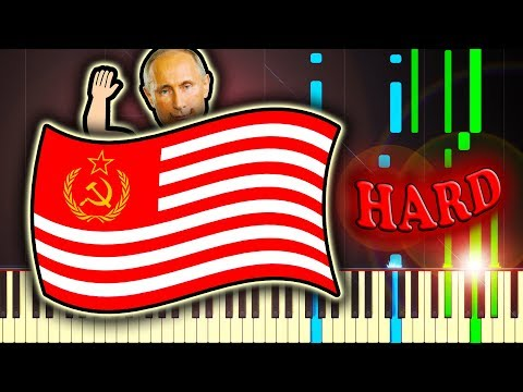 The Star Spangled Banner but HACKED by PUTIN
