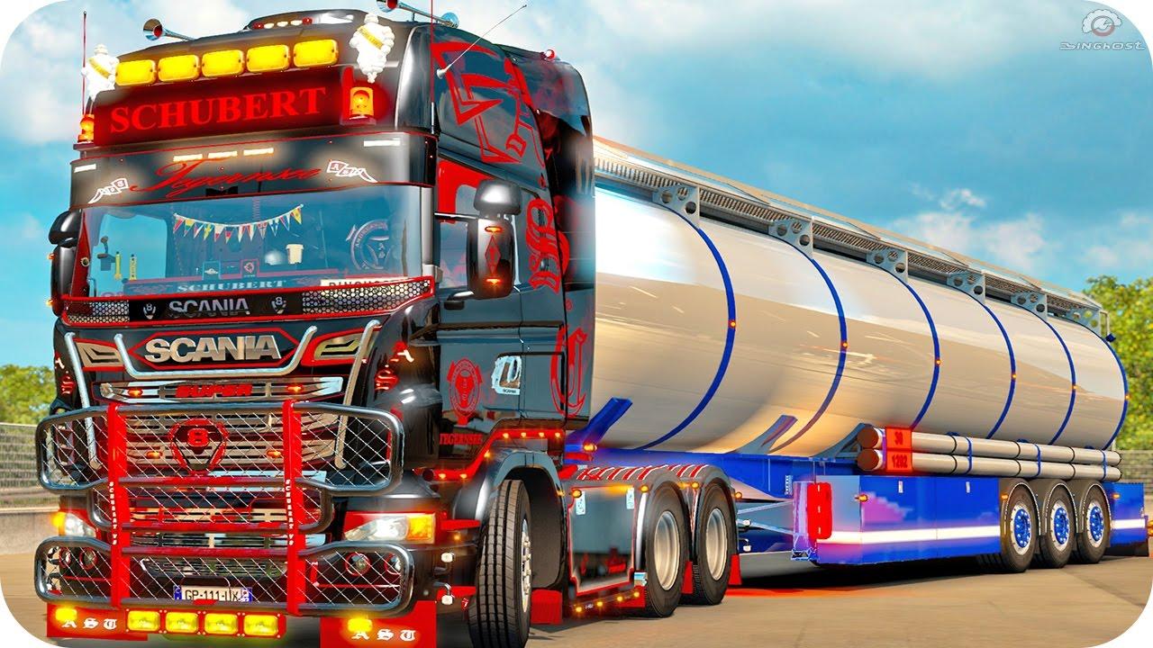 Scania Schubert Ets2 Euro Truck Simulator 2 Youtube