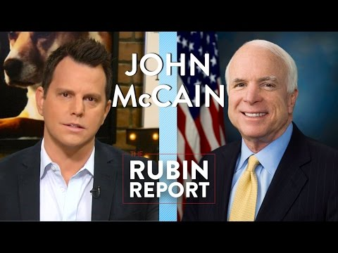 John McCain and Dave Rubin: 2016 Election and Money in Politics