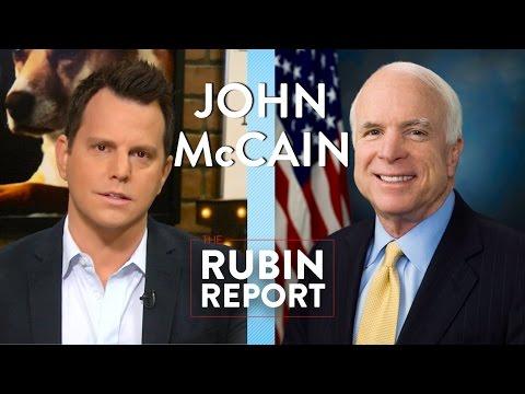 John McCain and Dave Rubin: 2016 Election and Money in Politics