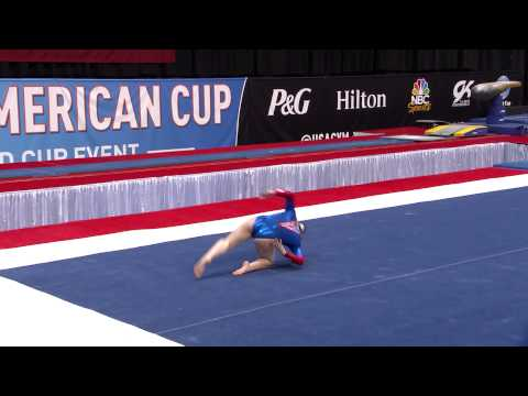 Claudia Fragapane - Floor Exercise - 2015 AT&T American Cup - NBC