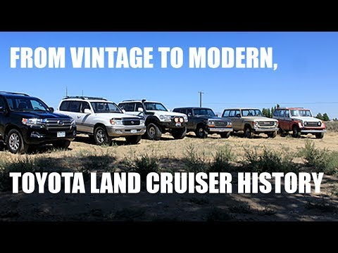 Classic To Modern, Toyota Land Cruiser History Lesson