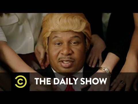 """They Love Me"" Music Video - Black Trump (ft. Jordan Klepper): The Daily Show"