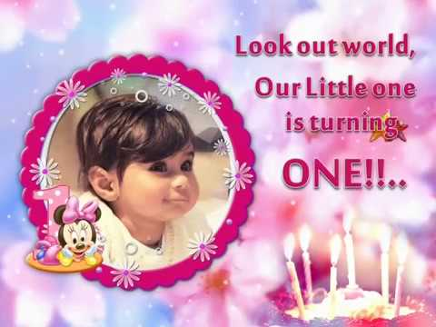 St Birthday Invitation Video YouTube - Birthday invitation video