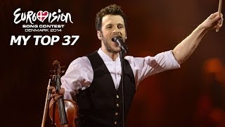 Eurovision 2014 | My Top 37