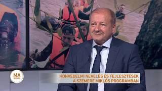 Honvédelmi nevelés és fejlesztések a Szemere Miklós programban