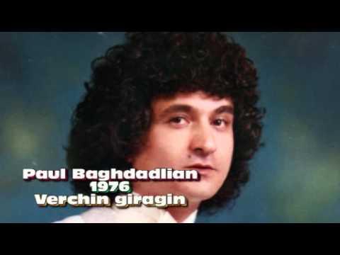 Paul Baghdadlian 1976