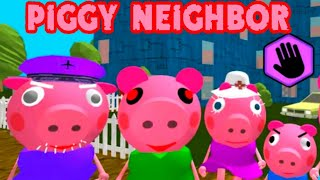 PIGGY Neighbor Family Escape Obby House 3D [Level 5 - 7] Gameplay - Walkthrough - Android - IOS