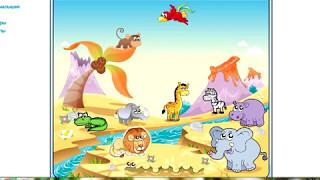 Животные Африки  Обучающее видео для детей