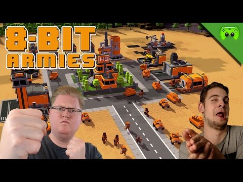 PIXEL COMMAND AND CONQUER 🎮 8-Bit Armies #1
