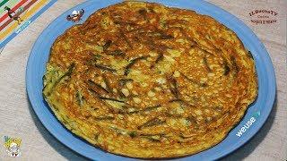 214 - Frittata di asparagi selvatici...per momenti epici! (ricetta primaverile elimina tossine)