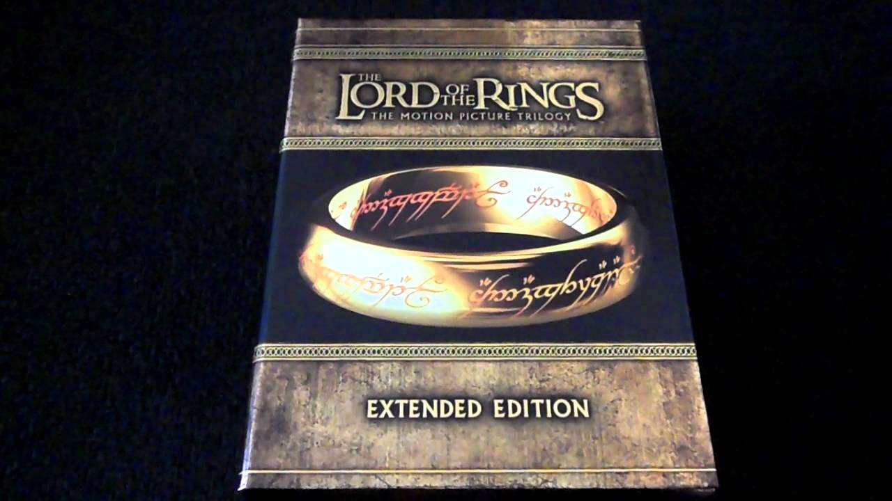 Lord Of The Rings Extended Blu Ray Review