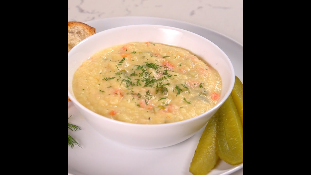 Dill Pickle Soup - YouTube