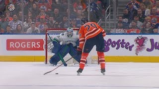 Draisaitl helps spoil Sedins' last game with shootout winner