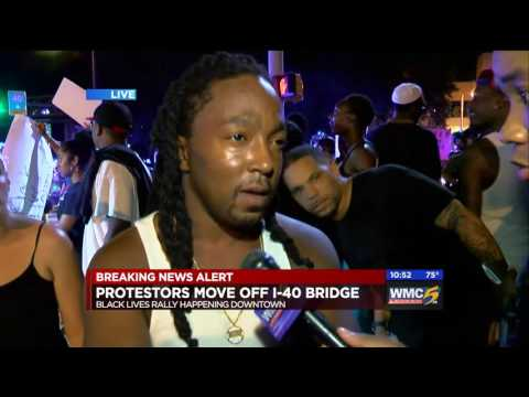 Memphis Black Lives Matter Protest 3