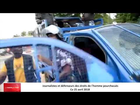 Journalistes et défenseurs des droits de l'homme pourchassés et arrosés de gaz lacrymogène