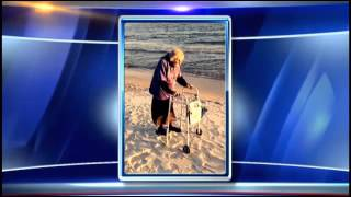 100 year old Tennessee woman sees the ocean for 1st time