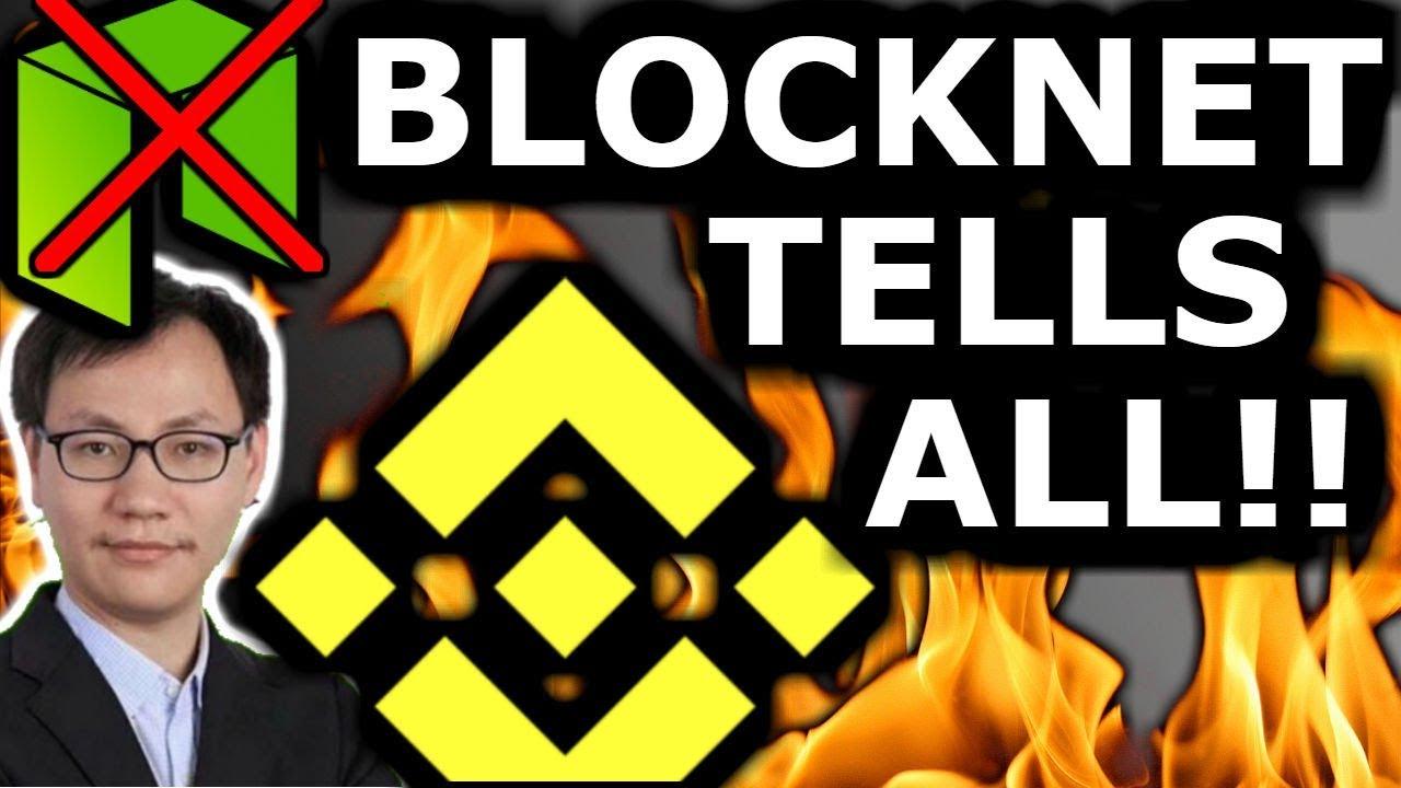 Proof Erik Zhang Works For Binance! Neo Left Behind! Exclusive Blocknet Leak!!