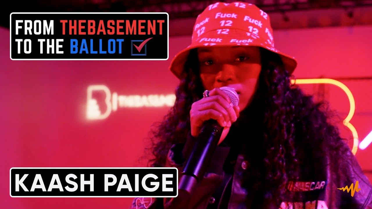 """Download Kaash Paige Performs """"London"""" & """"Heartbreaker""""   From TheBasement To The Ballot"""