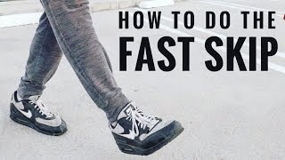 How To Do Jump Rope Fast Skip