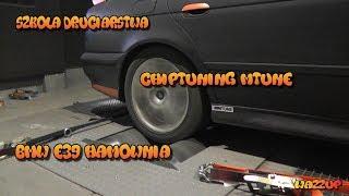 Szkoła Druciarstwa Chiptuning Mtune BMW E39 Hamownia Wazzup :)