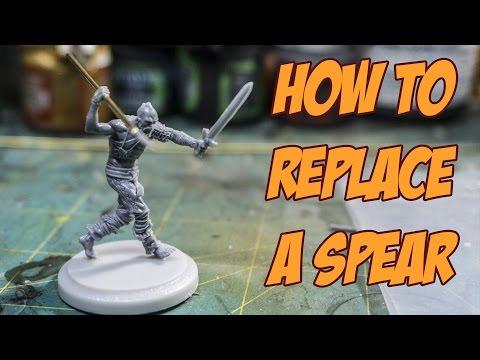 "Replacing ""Sven's"" Spear - Arena Rex mini"