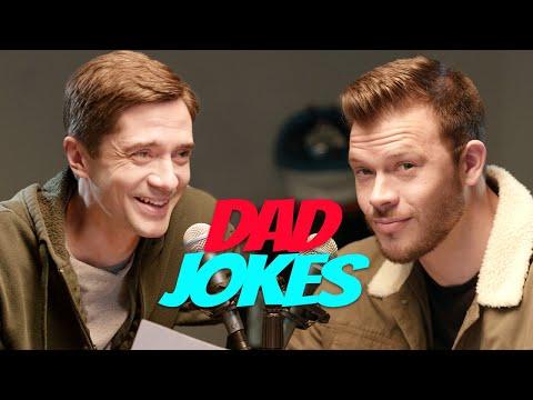 Dad Jokes | Topher Grace vs. Jimmy Tatro | All Def