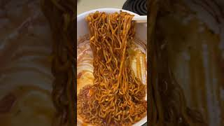 Trying Tomato Pasta Samyang Noodles